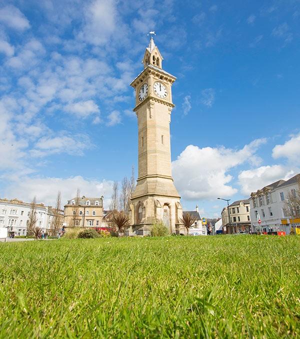 Barnstable's Albert clock tower