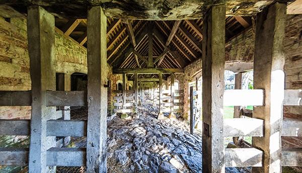 Old barn near Barnstable