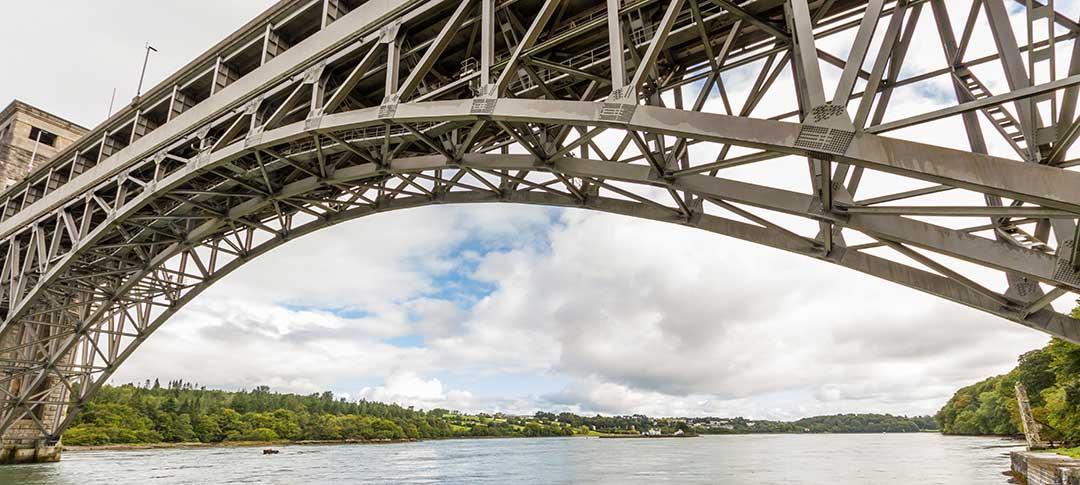 Britannia Bridge Bangor