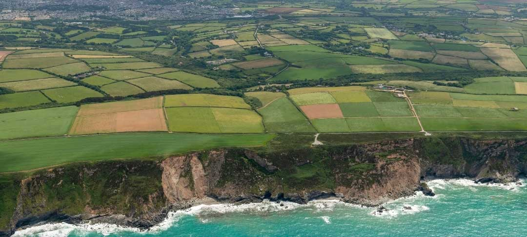 Camborne from the sky