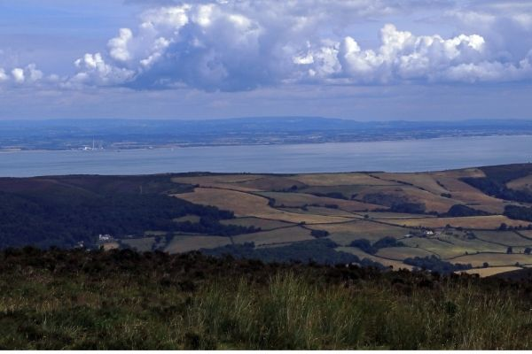 View of the Bristol Channel
