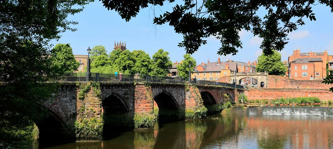The Dee Bridge at Chester