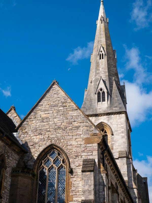 All Saints church in Dorchester