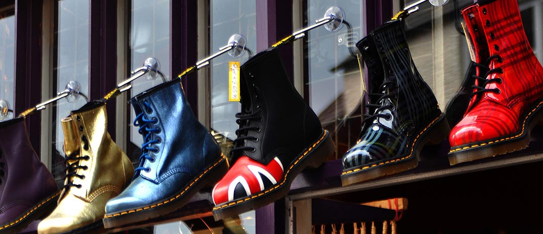 Dr Martens made in Northamptonshire