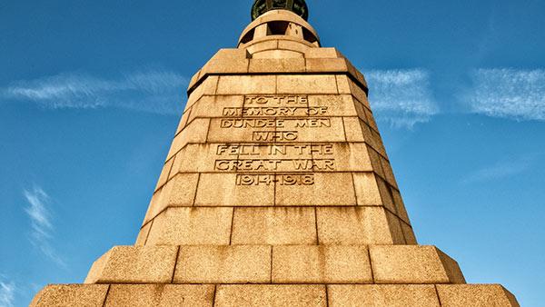 Dundee war memorial