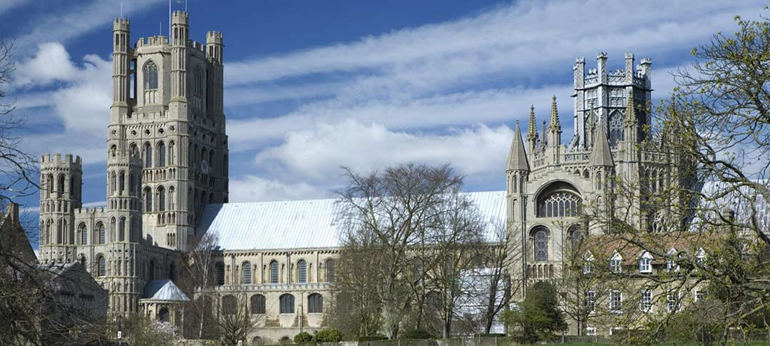 Ely Cathedral on a sunny day