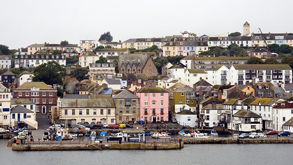 Falmouth seafront