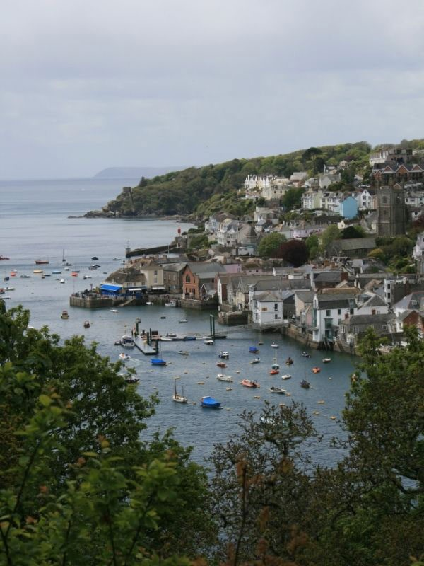 View of Fowey Harbour