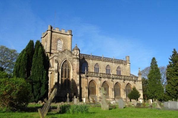 Christ Church and graveyard in Frome