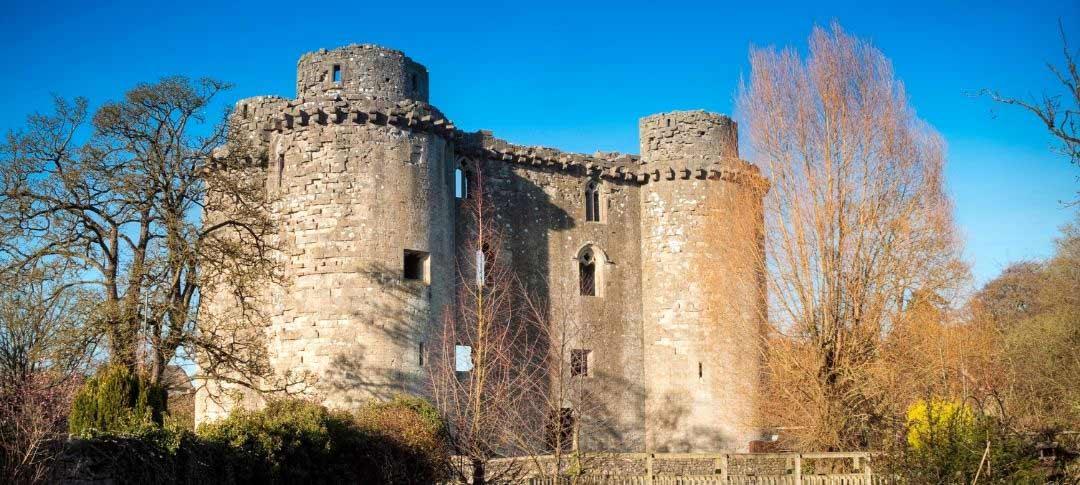Nunney Castle near Frome