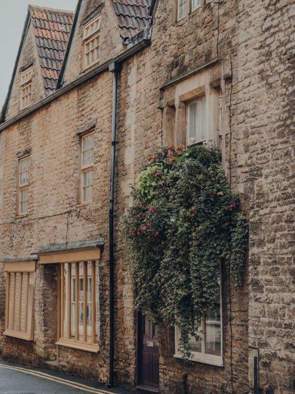 Old house in Frome
