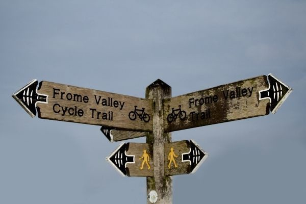 Frome signpost
