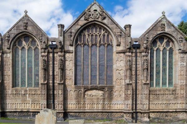 St Mary Magdalene Church in Launceston