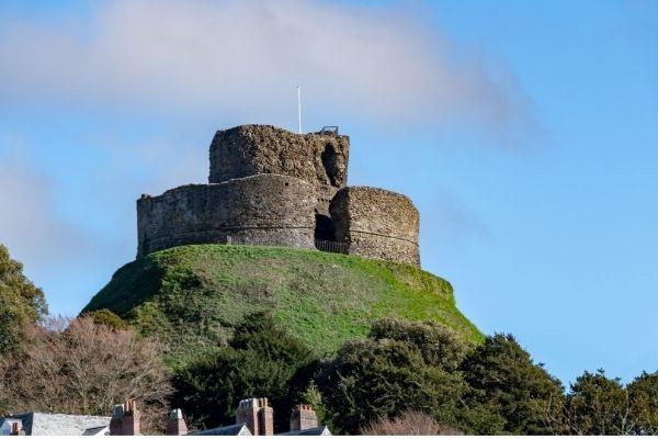 Launceston Castle hill fort