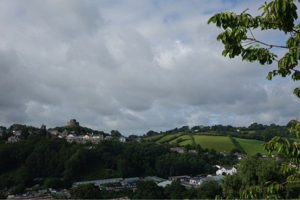 View across to Launceston