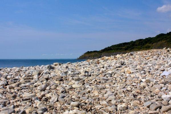 Lyme Regis pebble beach