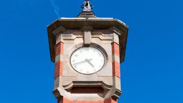 Morecambe clock tower