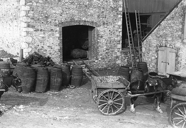 The VAT house at a cider makers in Newton Abbot