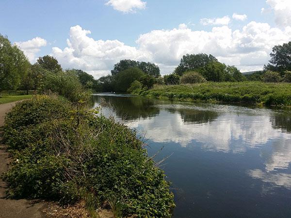 Northampton river in northamptonshire