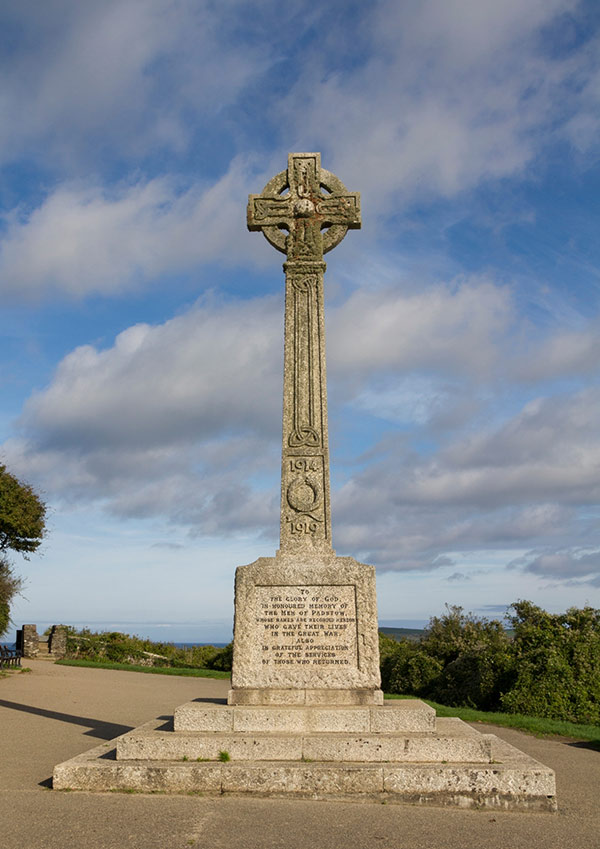 War Memorial in Padstow