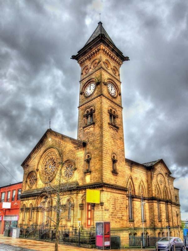 Fishergate Baptist Church in Preston