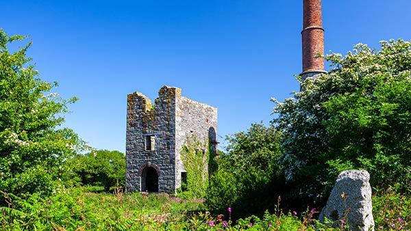 Cornish tin mine near Redruth