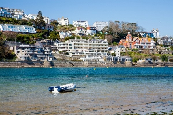 Salcombe seafront