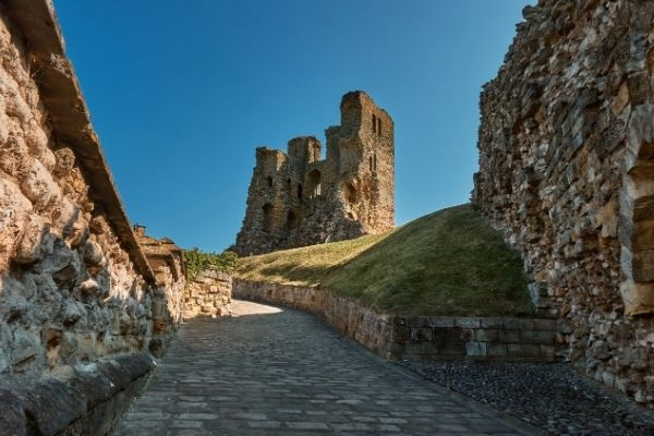 Scarborough Castle ruins