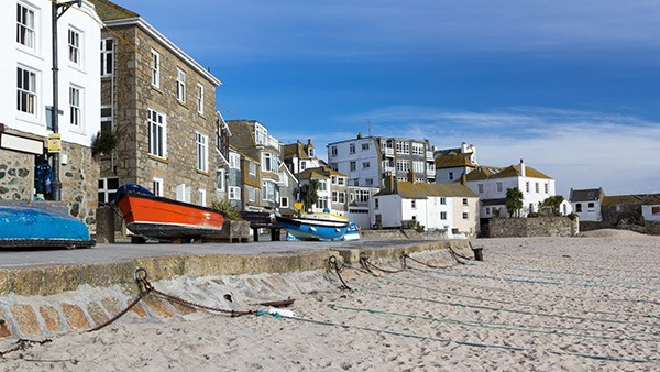 The Seafront at St Ives in Cornwall