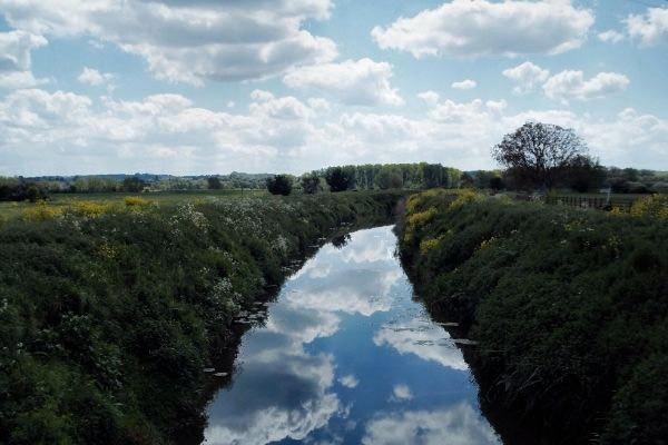 The River Brue near Street