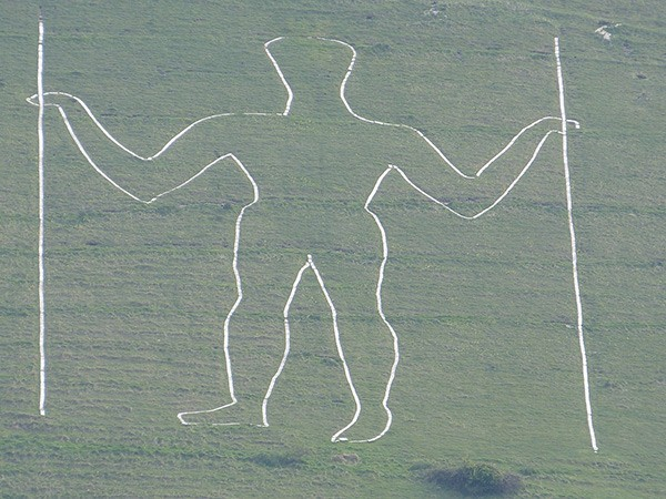 The Long Man in Sussex