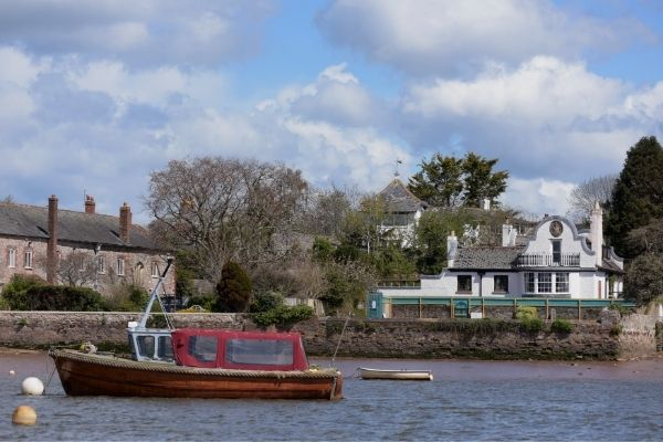View of Topsham from the River