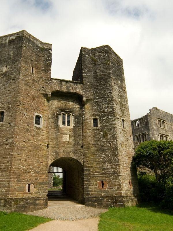 Berry Pomeroy Castle near Totnes