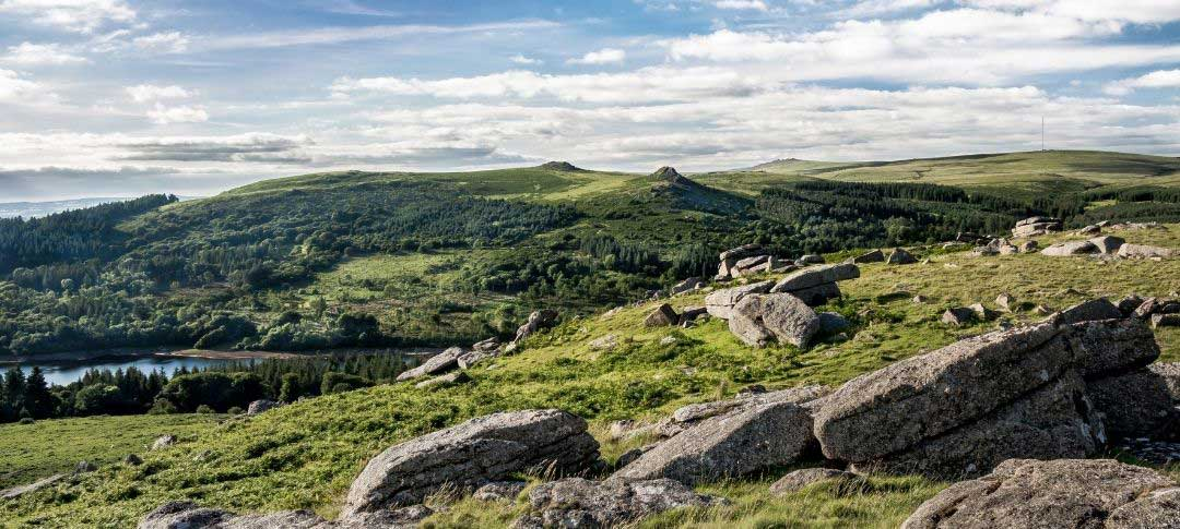 View from Sheeps Tor near Yelverton