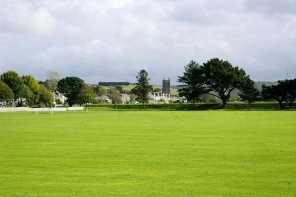 Egloshayle playing fields at Wadebridge