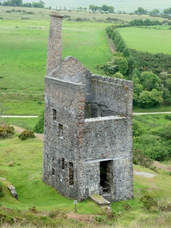 Wheal Betsy mine near Tavistock