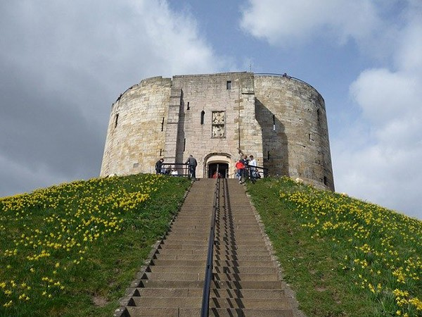 Cliffords Tower, part of York Castle