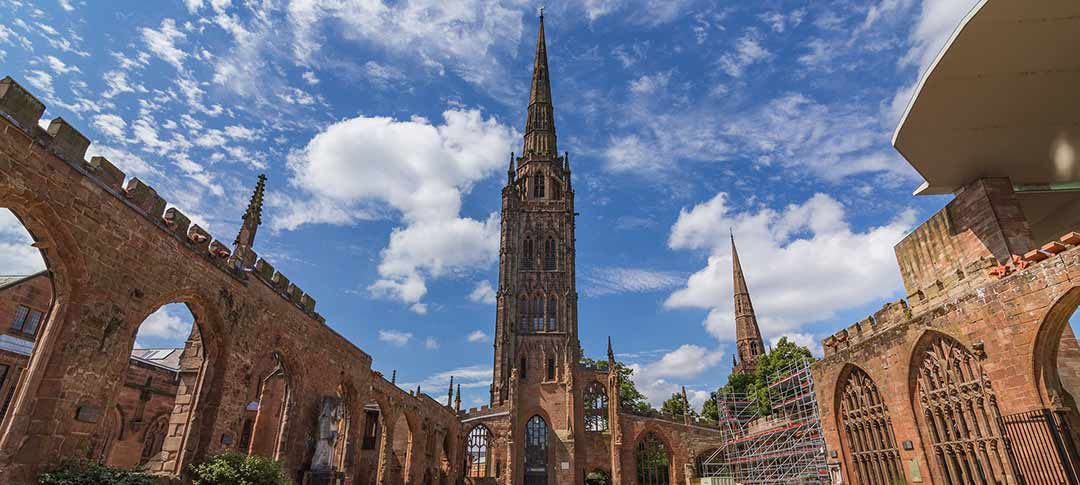 Coventry Cathedral in Manchester