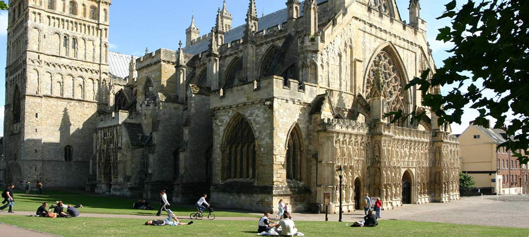 Airport transfers from Exeter in Devon