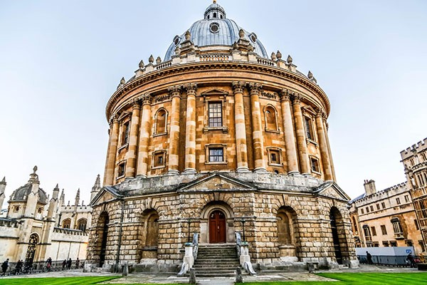 Oxford University in Oxfordshire
