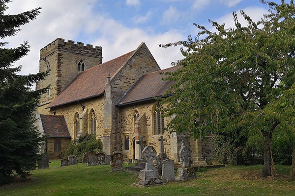 Church in Buckinghamshire countryside