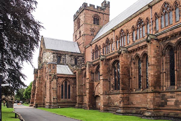 Carlisle Cathedral in Cumbria