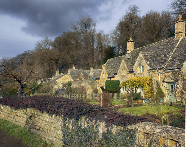 Cotswold houses in Gloucestershire