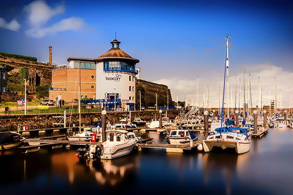 Whitehaven Marina in Cumbria