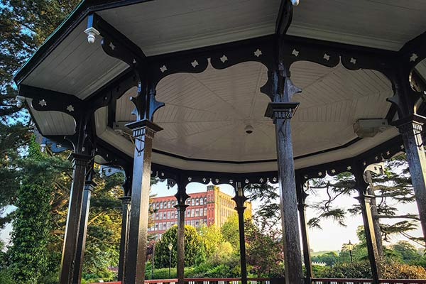 Bandstand at Belper in Derbyshire