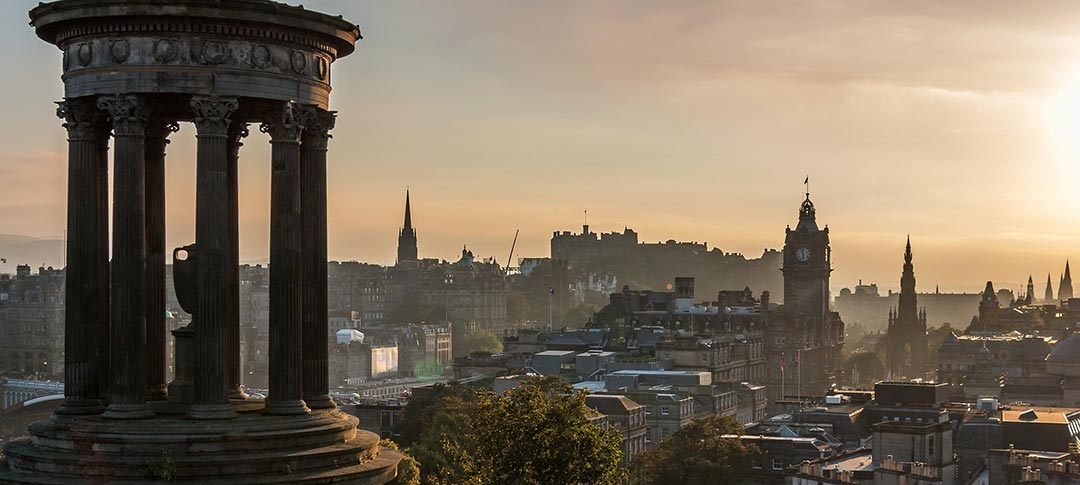 View across Edinburgh