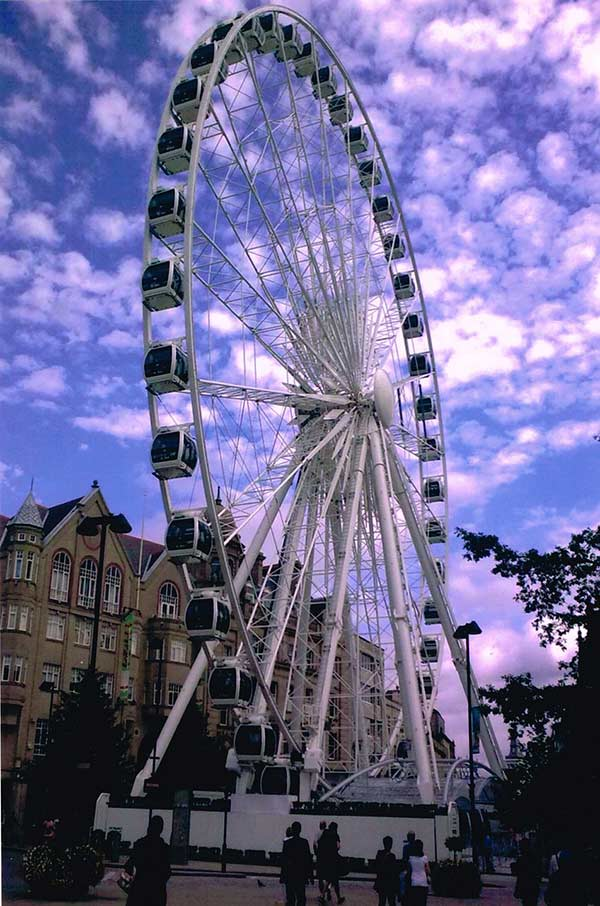 Ferris wheel in Sheffield