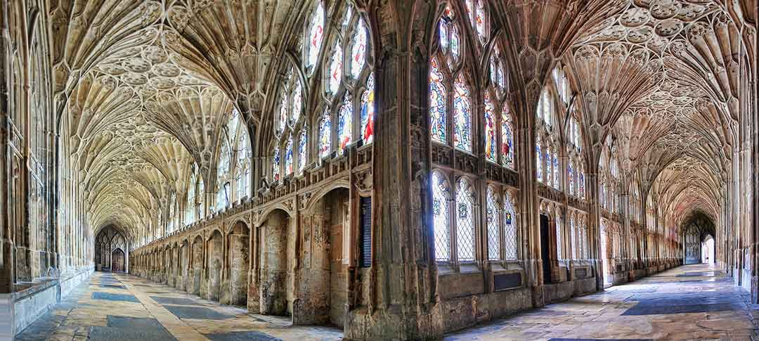 Gloucester Cathedral in Gloucestershire