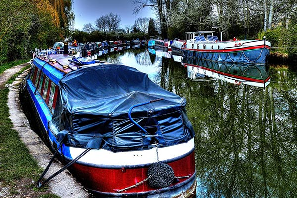 Grand Union Canal in Warwickshire