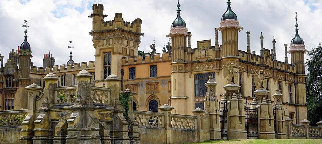 Knebworth House in Hertfordshire